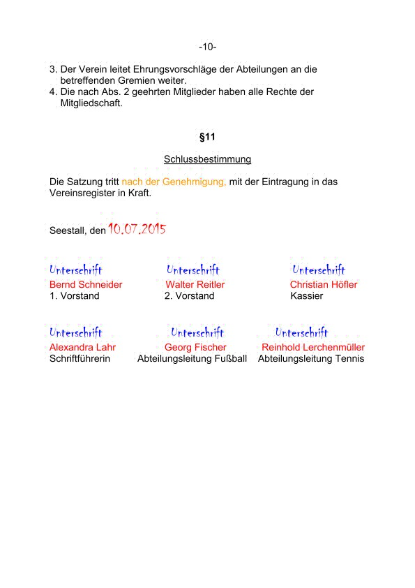 Satzung FC Seestall Neuauflage Aushang final PAGE12